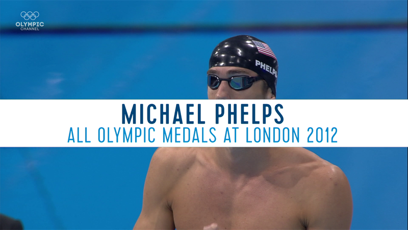 Best Olympics moments : Michael Phelps - all Olympics medals at London 2012