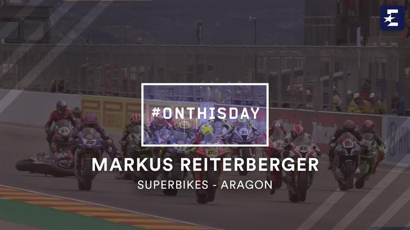 Un anno fa: Reiterberger, che disastro! Incidente in partenza ad Aragon
