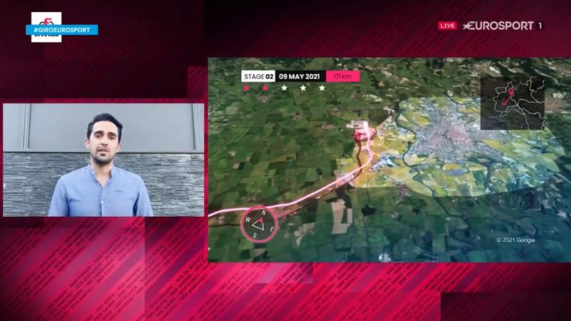 Contador analiza la 2ª etapa del Giro: Primera batalla por el 'ciclamino'
