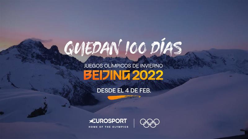 Comienza la cuenta atrás: 100 días para los Juegos Olímpicos de Invierno de Pekín 2022