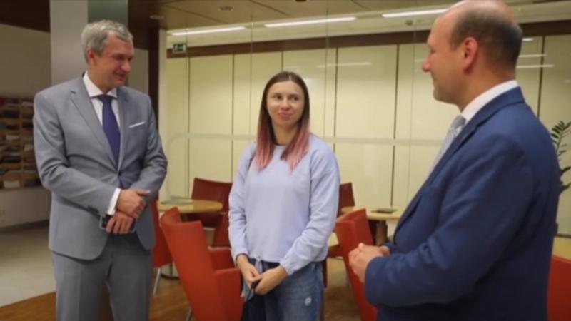 Тимановская прилетела в Польшу и встретилась с госсекретарем