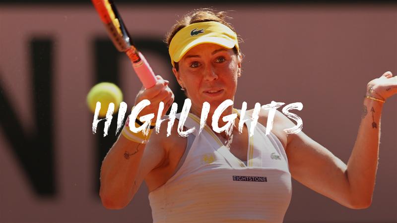 Pavlyuchenkova - Zidansek - Roland-Garros
