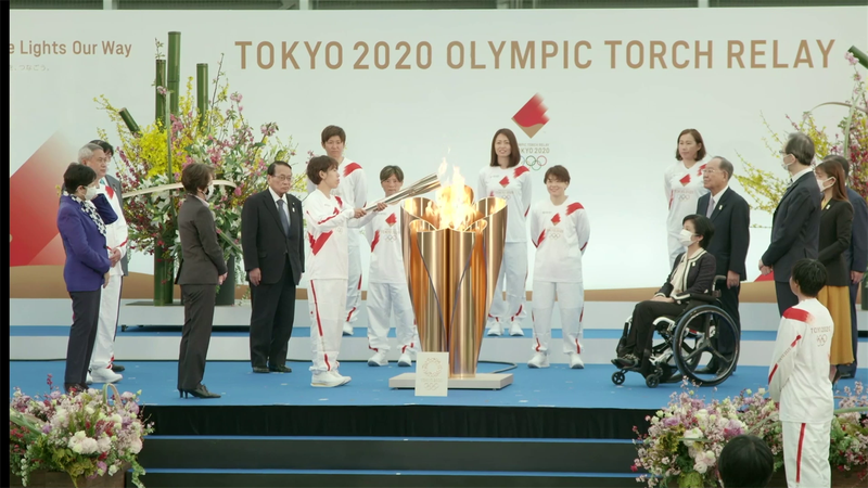 Olympic torch relay begins in Fukushima as countdown to Tokyo 2020 begins