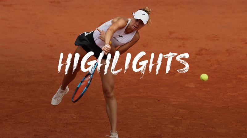 Linette - Barty - Roland-Garros Highlights