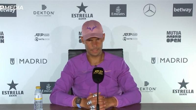 """Nadal: """"Ho fatto un disastro, Zverev uno dei migliori al mondo"""""""