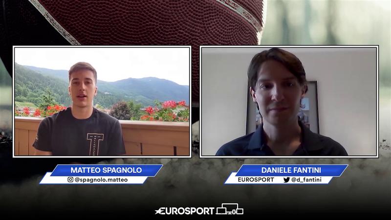 Matteo Spagnolo in esclusiva a Eurosport, tra Nazionale, Real Madrid e grandi sogni