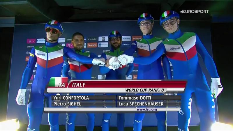 Italia è poker di bronzi! Anche la staffetta maschile a medaglia