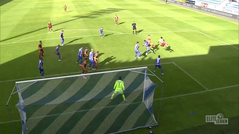 Coulibaly scores stunning backheeled lob in the Eliteserien