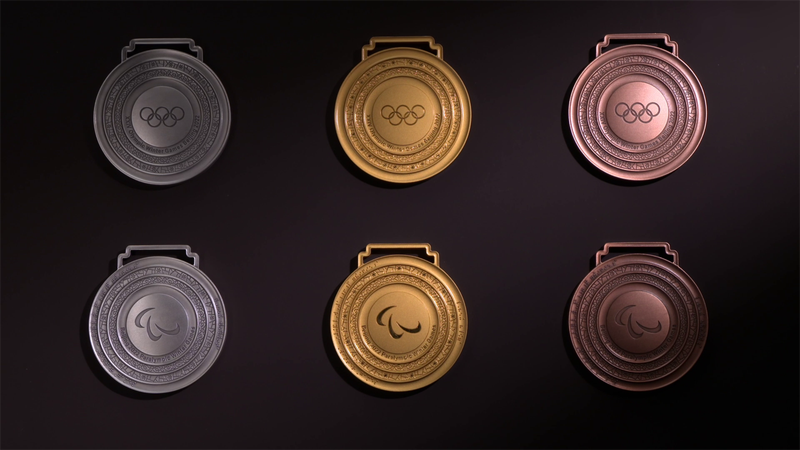 Beijing 2022: The medals for the Winter Olympic games revealed