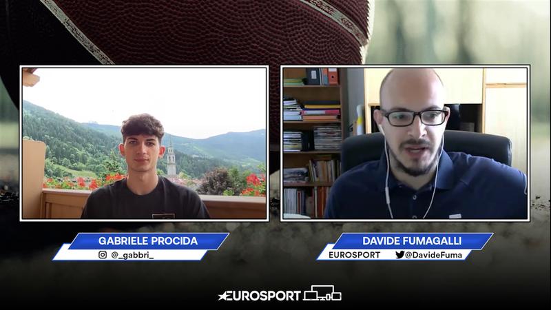 Gabriele Procida in esclusiva a Eurosport fra Nazionale, il Draft NBA e Cantù