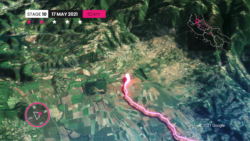 Giro d'Italia 2021 | Profiel Etappe 10