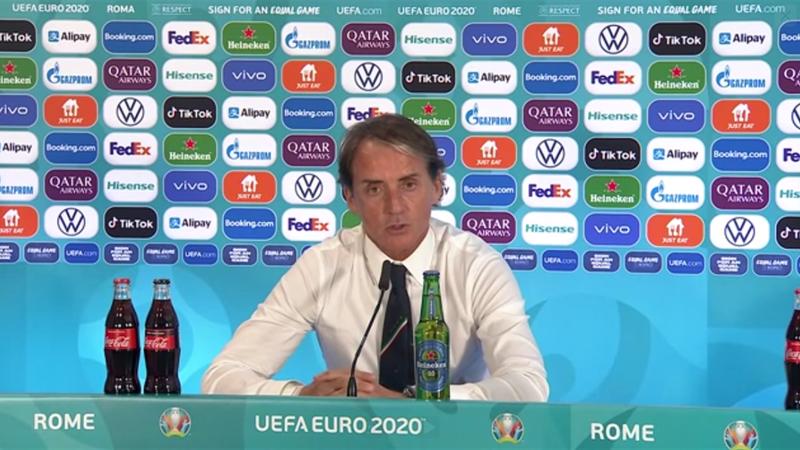 """Mancini: """"Sarà una sofferenza scegliere chi non giocherà"""""""