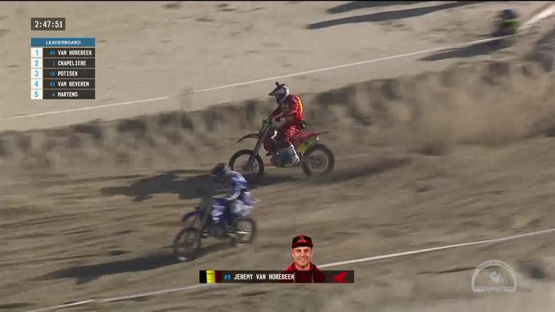 Motocross, due anni fa Van Horebeek superava 60 moto in 1 minuto