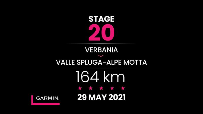 Giro d'Italia | Yirminci etap profili