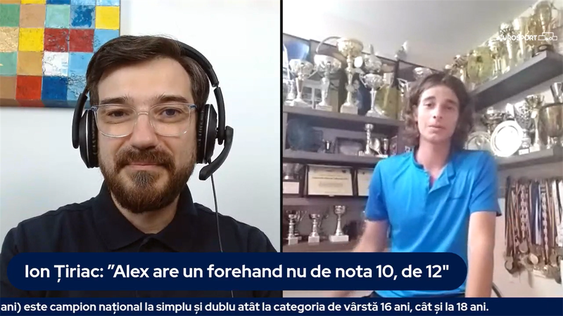 #ETalks cu Alex Coman, puștiul minune al tenisului românesc