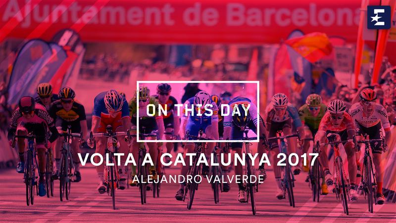 Volta a Catalunya: tour of catalunya 2017 valverde winning stage 7