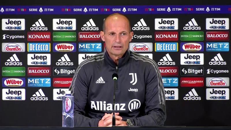 """Allegri: """"L'Inter è ancora la favorita per vincere lo scudetto"""""""