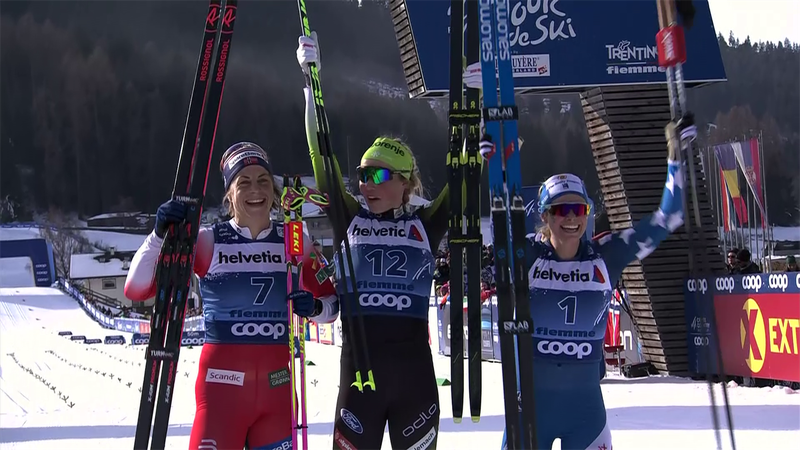 Anamarija Lampic, victorie la sprint în Turul de schi