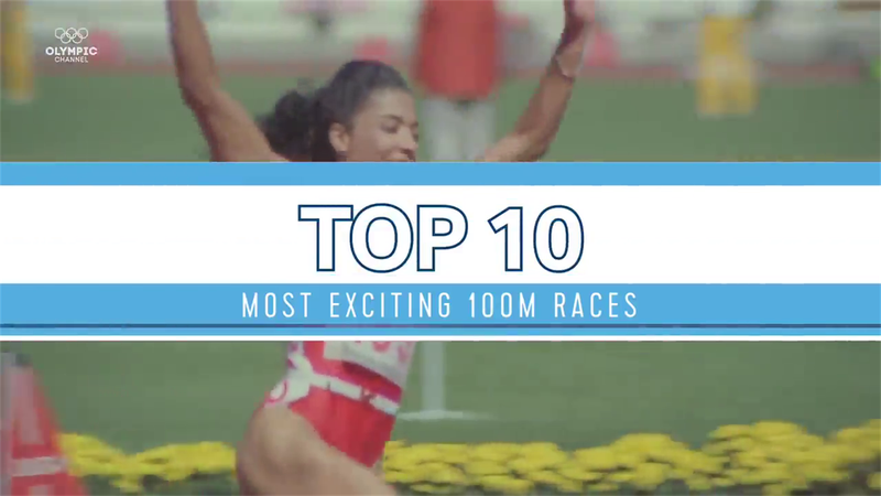 Top 10: Most exciting 100m races in Olympics history