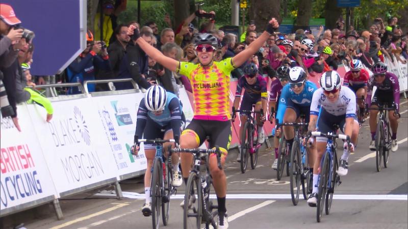 İngiltere Bisiklet Turu | Etap #1 - Önemli Anlar (Kadınlar)