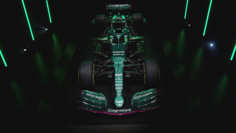 AMR21: la Aston Martin di Vettel e Stroll nel Mondiale 2021