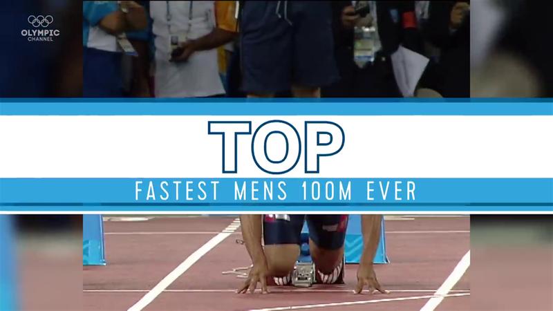 Olimpiyatlar'da 100 metrenin Uçan Adamları