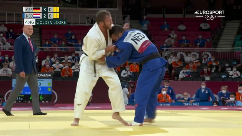 Tokyo 2020 | Nederlandse judoka's grijpen net naast medailles met gemengd team