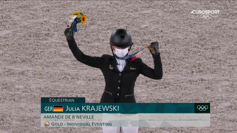 Jocurile Olimpice, echitație: Julia Krajewski, campioană la Tokyo 2020