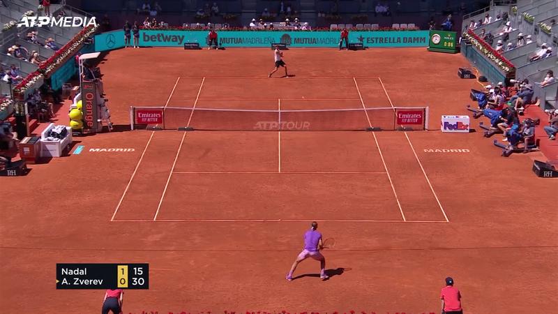 Rezumatul meciului dintre Alexander Zverev și Rafael Nadal, încheiat cu victoria germanului