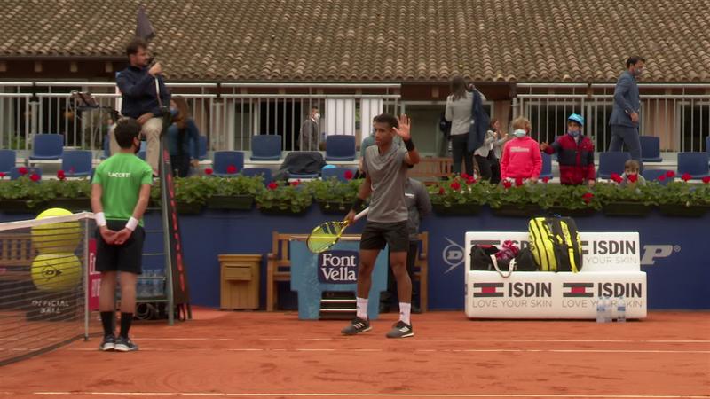 ATP Barcelona: Auger-Aliassime, victorie mare în fața lui Denis Shapovalov, scor 6-2, 6-3