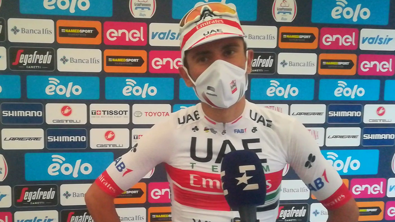 "Diego Ulissi: ""Oggi c'è davvero rammarico. Volevo vincere, bravo Bennett"""