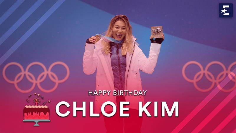 #StarsBirthday: Chloe Kim record 98.25 run in Pyeongchang