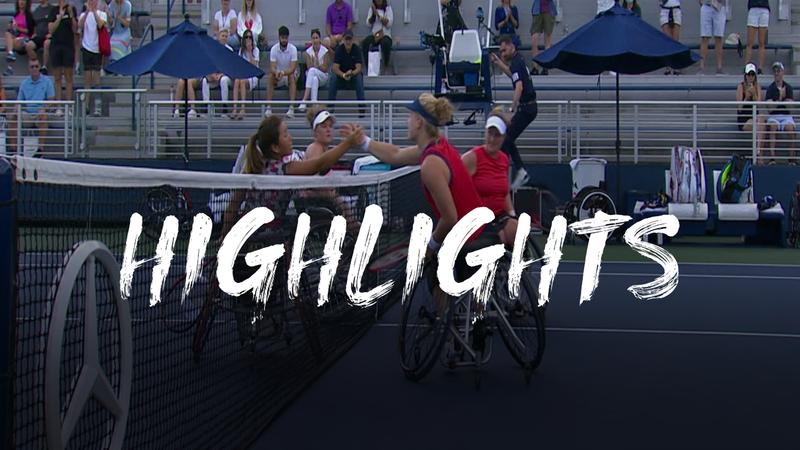 De Groot/Van Koot - Kamiji/Whiley - US Open