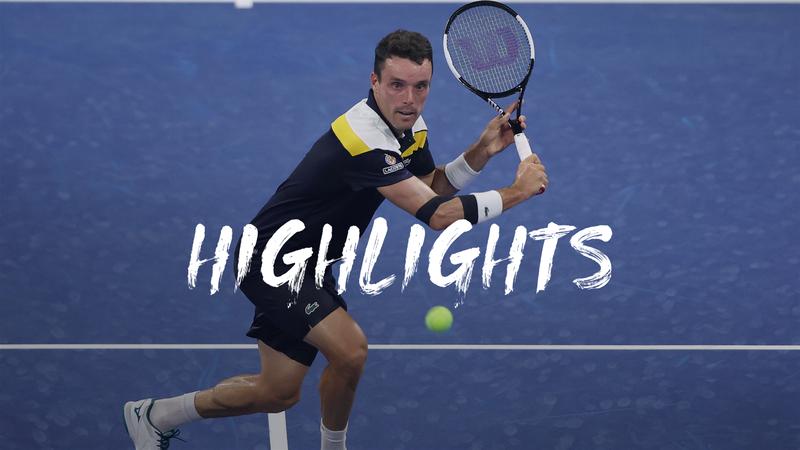 Bautista Agut - Kyrgios - US Open Highlights