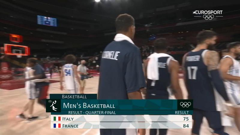 Jocurile Olimpice, baschet: Italia - Franța 75 - 84 în sferturile de finală la Tokyo 2020