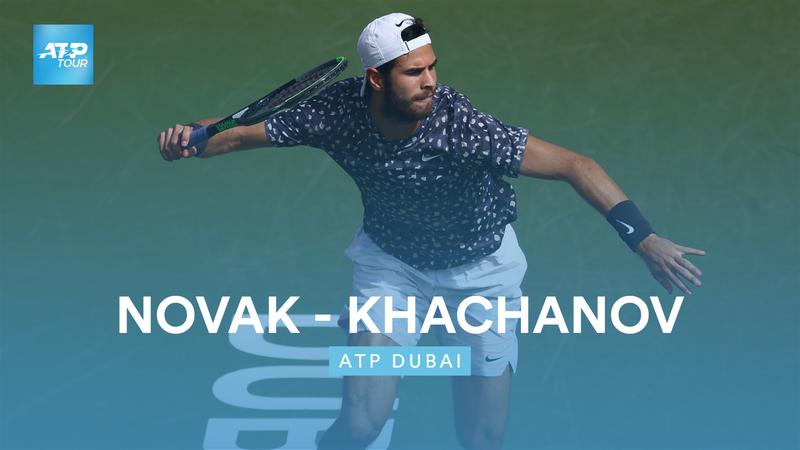 Høydepunkter: Novak - Khachanov