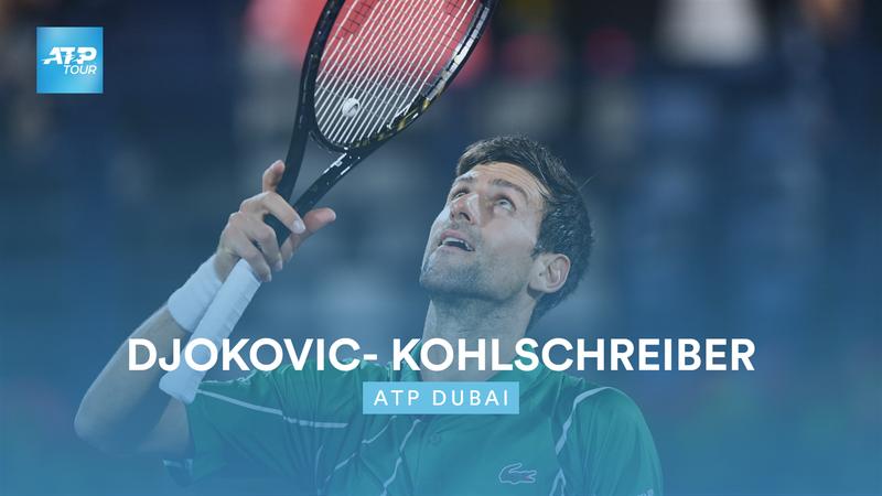 Høydepunkter: Djokovic - Kohlschreiber