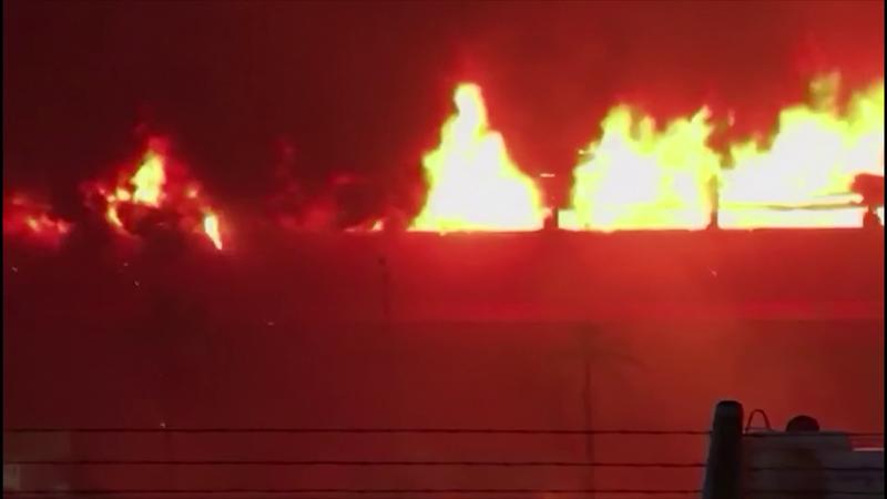 Argentina, pauroso incendio al circuito di Termas de Rio Hondo