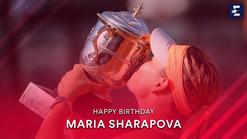 #StarsBirthday: Highlights of Sharapova's last GS win in Roland-Garros against Halep