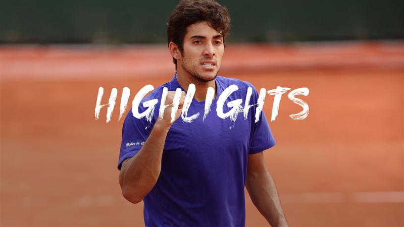 Highlights: Garin overcomes Giron at Roland Garros