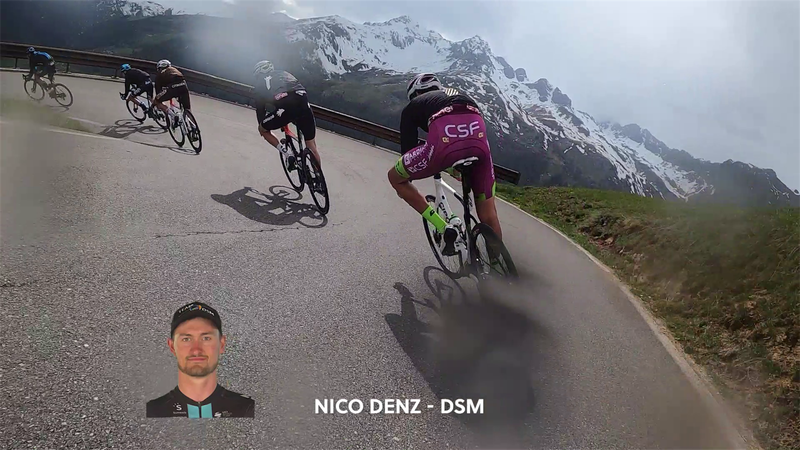 Így nézett ki a Giro utolsó hegyi szakasza belülről