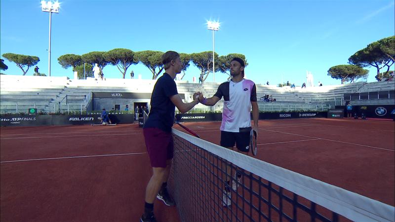 Денис Шаповалов – Стефано Травалья. ATP Рим – обзор матча