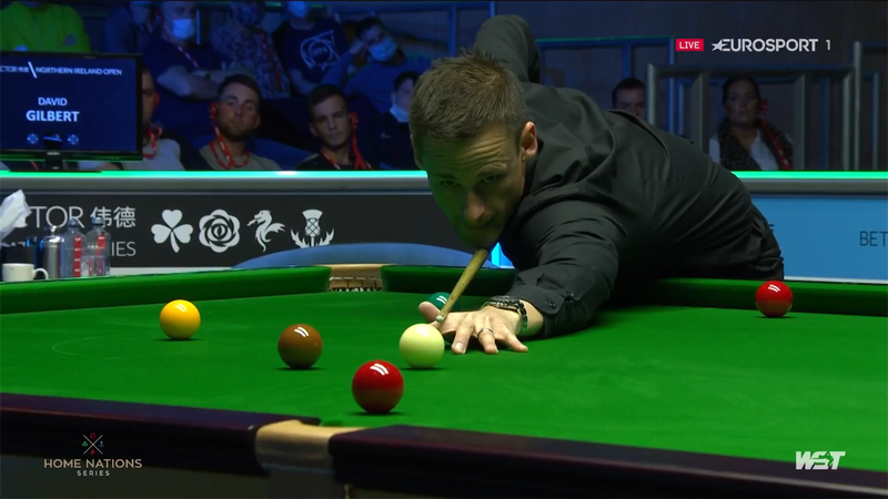 'Look how he has played it!' - Gilbert holds nerve to drop make-or-break blue