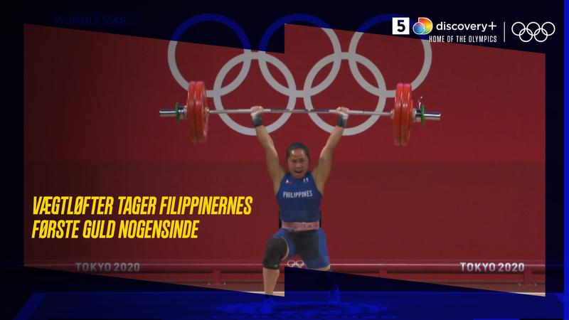 Historisk: Vægtløfter tager første OL-guld nogensinde hjem til Filippinerne