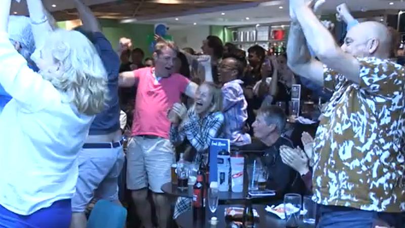 Непередаваемые эмоции друзей и фанатов Радукану после ее победы