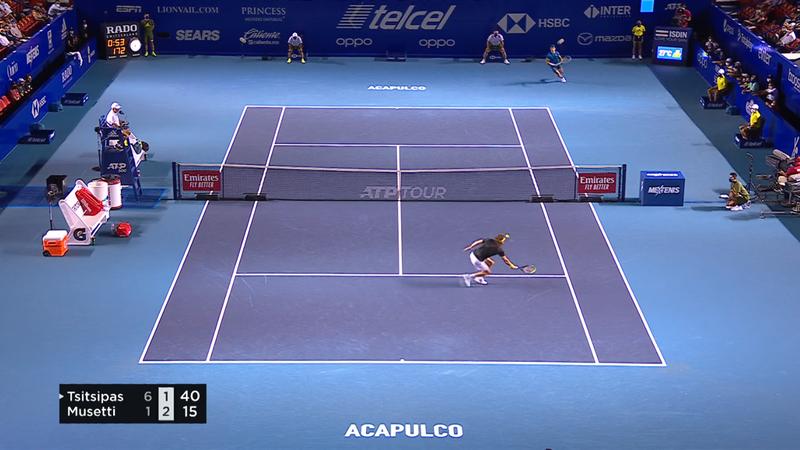 ATP Acapulco: Stefanos Tsitsipas, victorie clară în semifinale! Grecul va juca finala cu Zverev