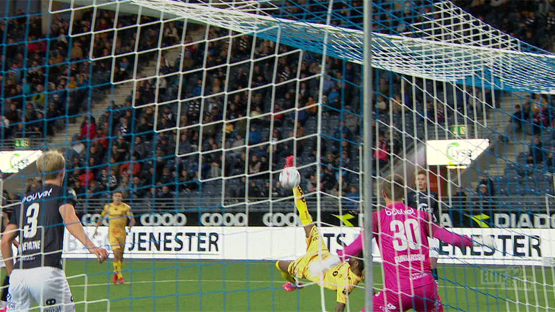 Norvegia: Pellegrino a reușit un gol fantastic din foarfecă