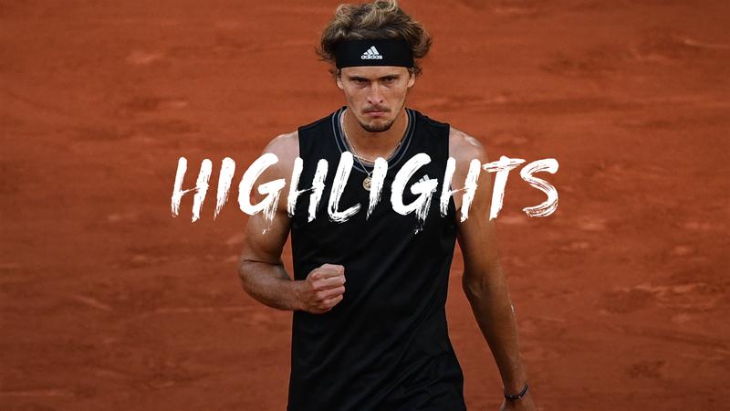 Roland-Garros: Day 10 - Highlights Zverev v Davidovich Fokina