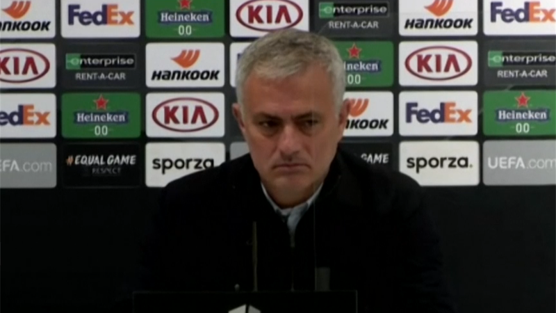'You have the answer' - Jose Mourinho on selection issues
