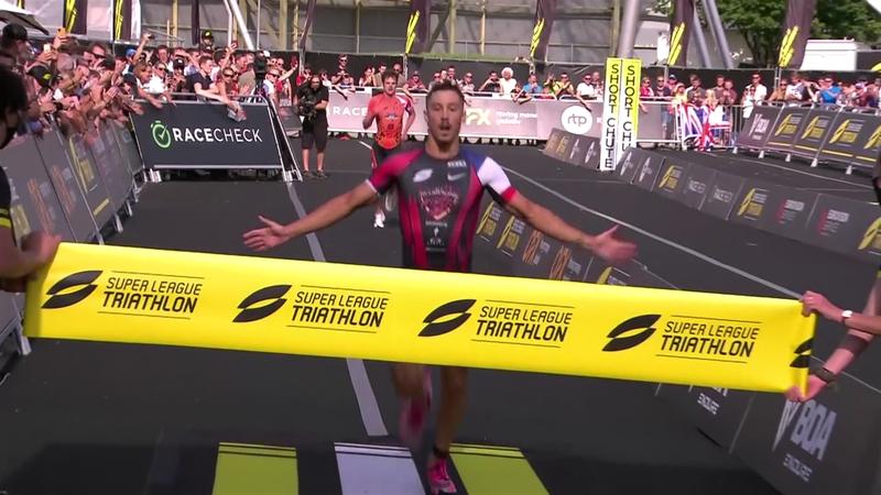 Luis beats Brownlee to win Triathlon Super League in Munich